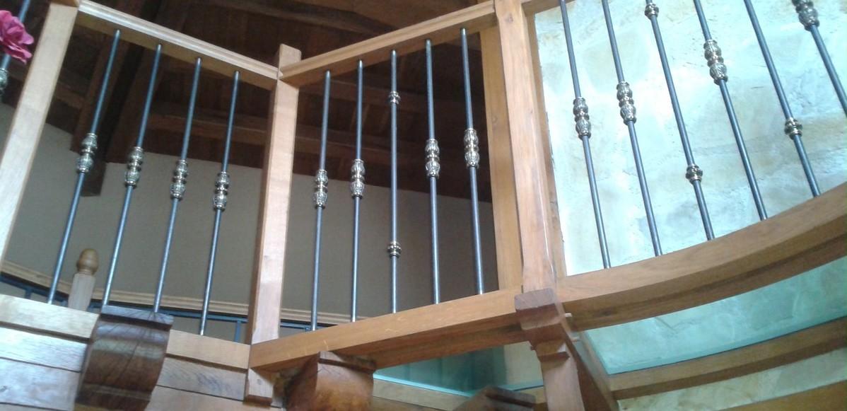 Bernard Forgeot, fabrication escalier et balustre dans la Marne, 51