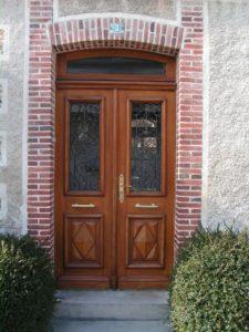 Porte d'entrée, menuisier à Maizières la grande Paroisse dans l'Aube, 10