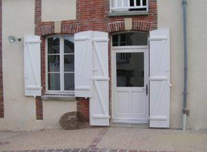 Porte d'entrée en Pvc à Troyes dans l'Aube