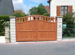 Pose de portail à Romilly sur seine, Maizières la Grande Paroisse, Troyes dans l'Aube, 10