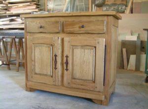 Ebénisterie, Meuble en bois de salle à manger