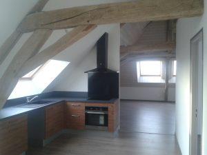 Aménagement de comble, création d'un appartement à Maizières la grande Paroisse dans l'Aube, 10