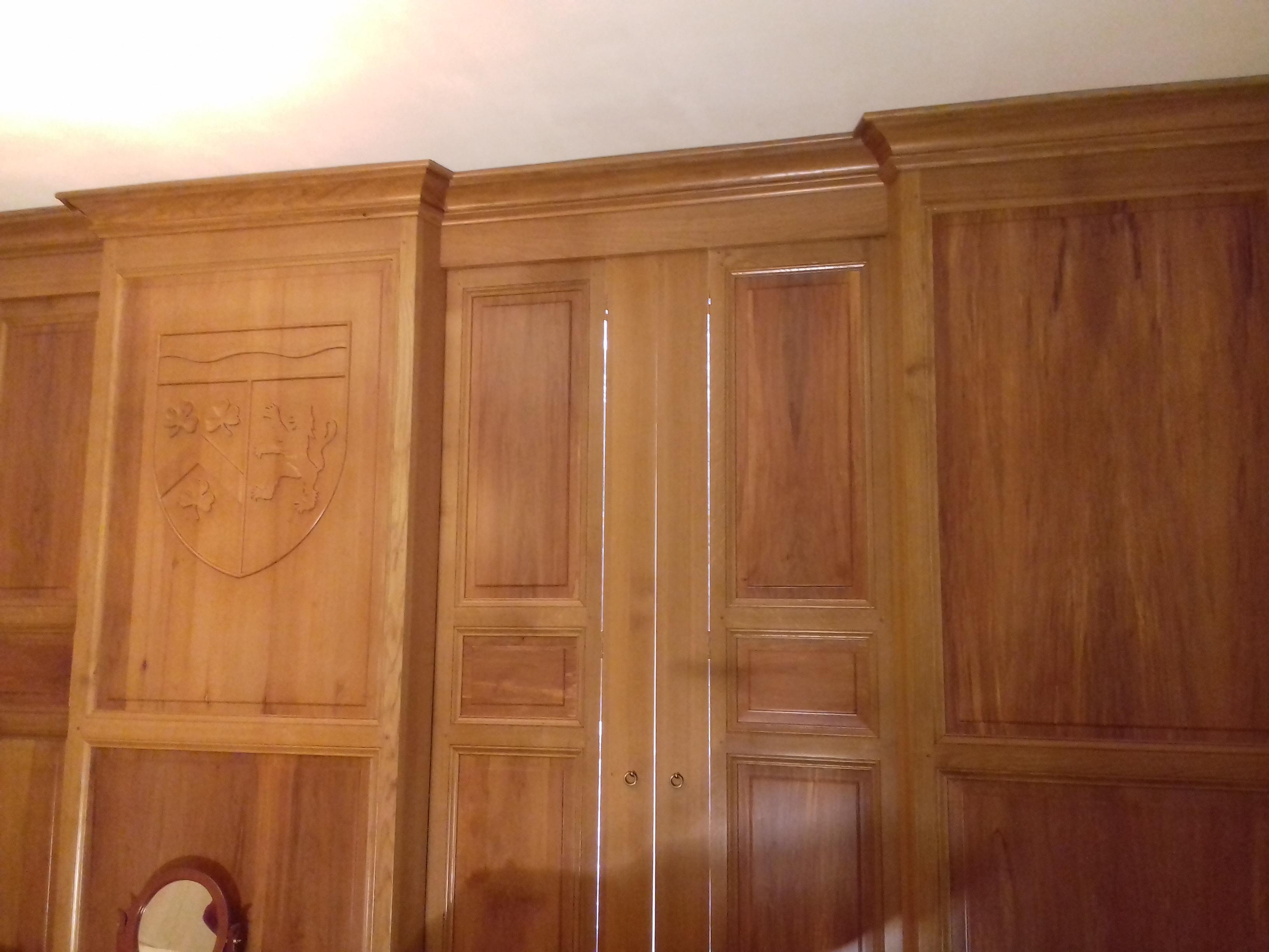 Ebéniste, Forgeot, meuble dressing bois à Troyes dans l'Aube