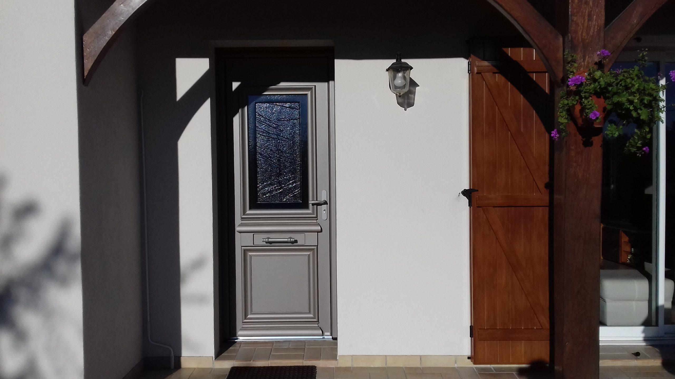 Menuiserie, porte d'entrée, Bernard Forgeot, Romilly, Troyes, Aube, 10